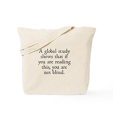 Global Study Shows Tote Bag