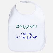 Bodyguard Little Sister Bib