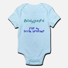 Bodyguard Little Brother Infant Bodysuit