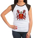 Rozmiar Coat of Arms Women's Cap Sleeve T-Shirt