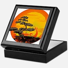 Sunset Bonsai Keepsake Box