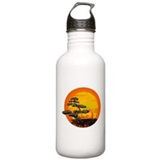 Sunset Bonsai Water Bottle