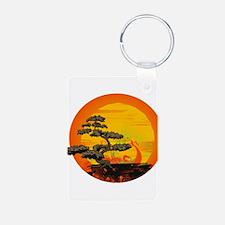Sunset Bonsai Keychains