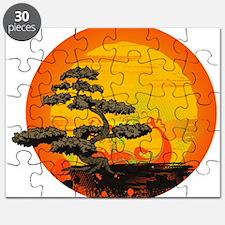 Sunset Bonsai Puzzle