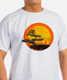 Sunset Bonsai T-Shirt