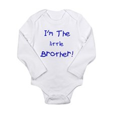 Im Little Brother Long Sleeve Infant Bodysuit