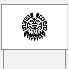 Mayan Yard Sign