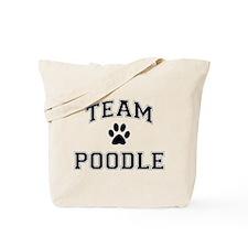 Team Poodle Tote Bag