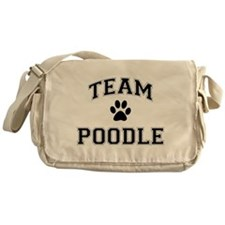 Team Poodle Messenger Bag