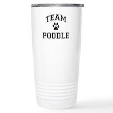 Team Poodle Travel Mug