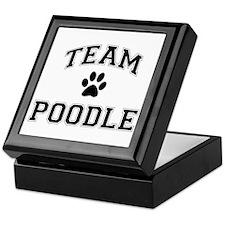 Team Poodle Keepsake Box