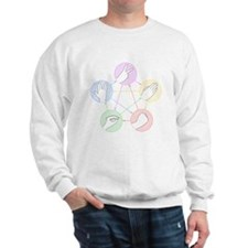 Rock Paper Scissors Lizard Spock Sweatshirt