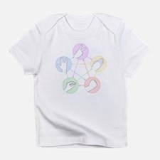 Rock Paper Scissors Lizard Spock Infant T-Shirt