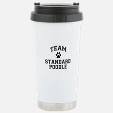 Team Standard Poodle Stainless Steel Travel Mug