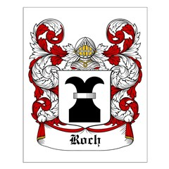 Roch Coat of Arms Posters