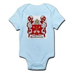 Rembowski Coat of Arms Infant Creeper