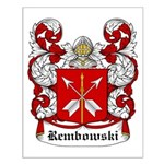 Rembowski Coat of Arms Small Poster