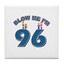 Blow Me I'm 96 Tile Coaster