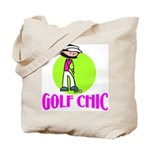 Golf Chic Tote Bag