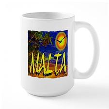 malta illustration artwork Mug
