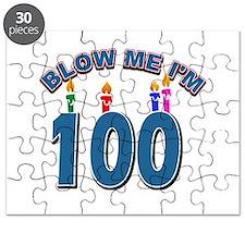 Blow Me I'm 100 Puzzle
