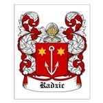Radzic Coat of Arms Small Poster