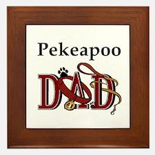 Pekeapoo Dad Framed Tile