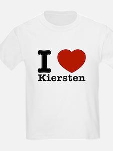 I Love Kiersten T-Shirt