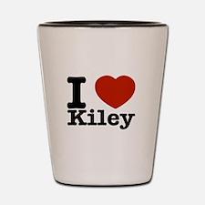 I Love Kiley Shot Glass