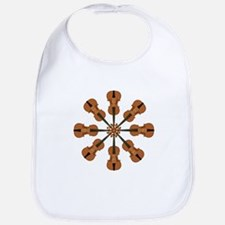 Circle of Violins Bib