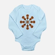 Circle of Violins Long Sleeve Infant Bodysuit