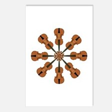 Circle of Violins Postcards (Package of 8)