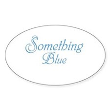 Something Blue Decal