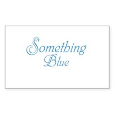 Something Blue Decal