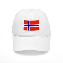 Norway Norwegian Blank Flag Baseball Cap