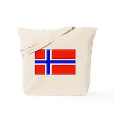 Norway Norwegian Blank Flag Tote Bag