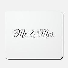 Mr. Mrs. Mousepad