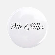 """Mr. Mrs. 3.5"""" Button"""