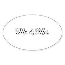 Mr. Mrs. Decal
