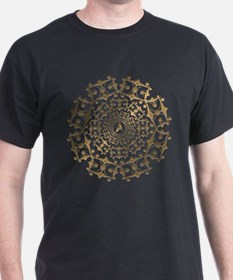 Gold Enterprise Art T-Shirt