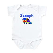 Train Engine Joseph Infant Creeper