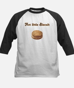 Hot Little Biscuit Kids Baseball Jersey