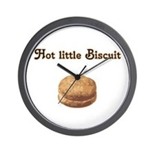 Hot Little Biscuit Wall Clock