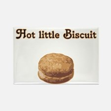 Hot Little Biscuit Rectangle Magnet
