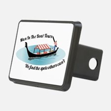 Man in the Boat Hitch Cover