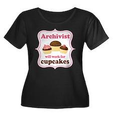 Archivist Cupcake (Funny) T