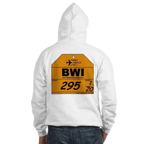 BWI - Baltimore / Washington Hooded Sweatshirt
