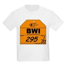 BWI - Baltimore / Washington Kids T-Shirt
