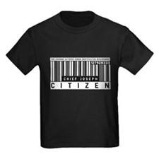 Chief Joseph, Citizen Barcode, T