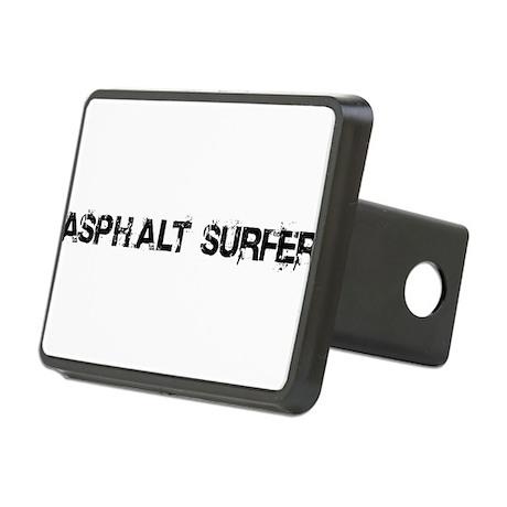Asphalt Surfer Rectangular Hitch Cover